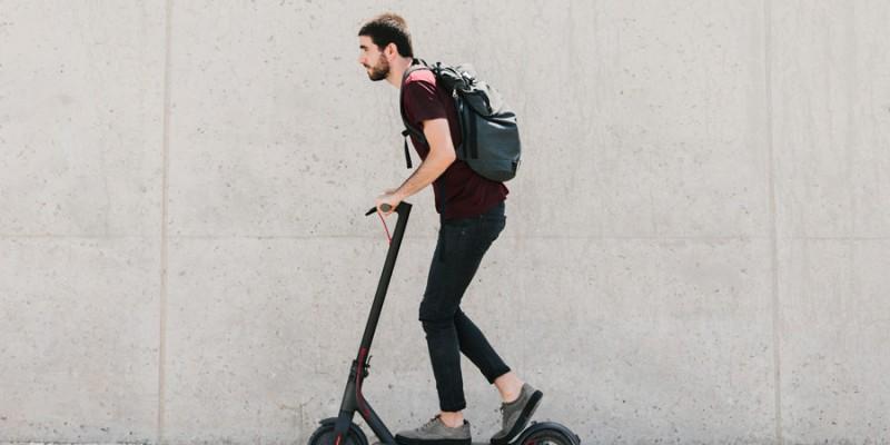 Los patinetes eléctricos, una gran solución al caos citadino