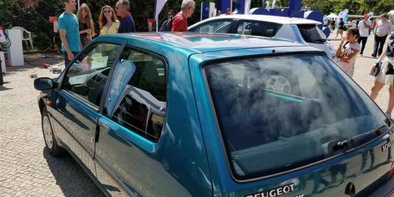 Peugeot 106 del año 1996 100% eléctrico
