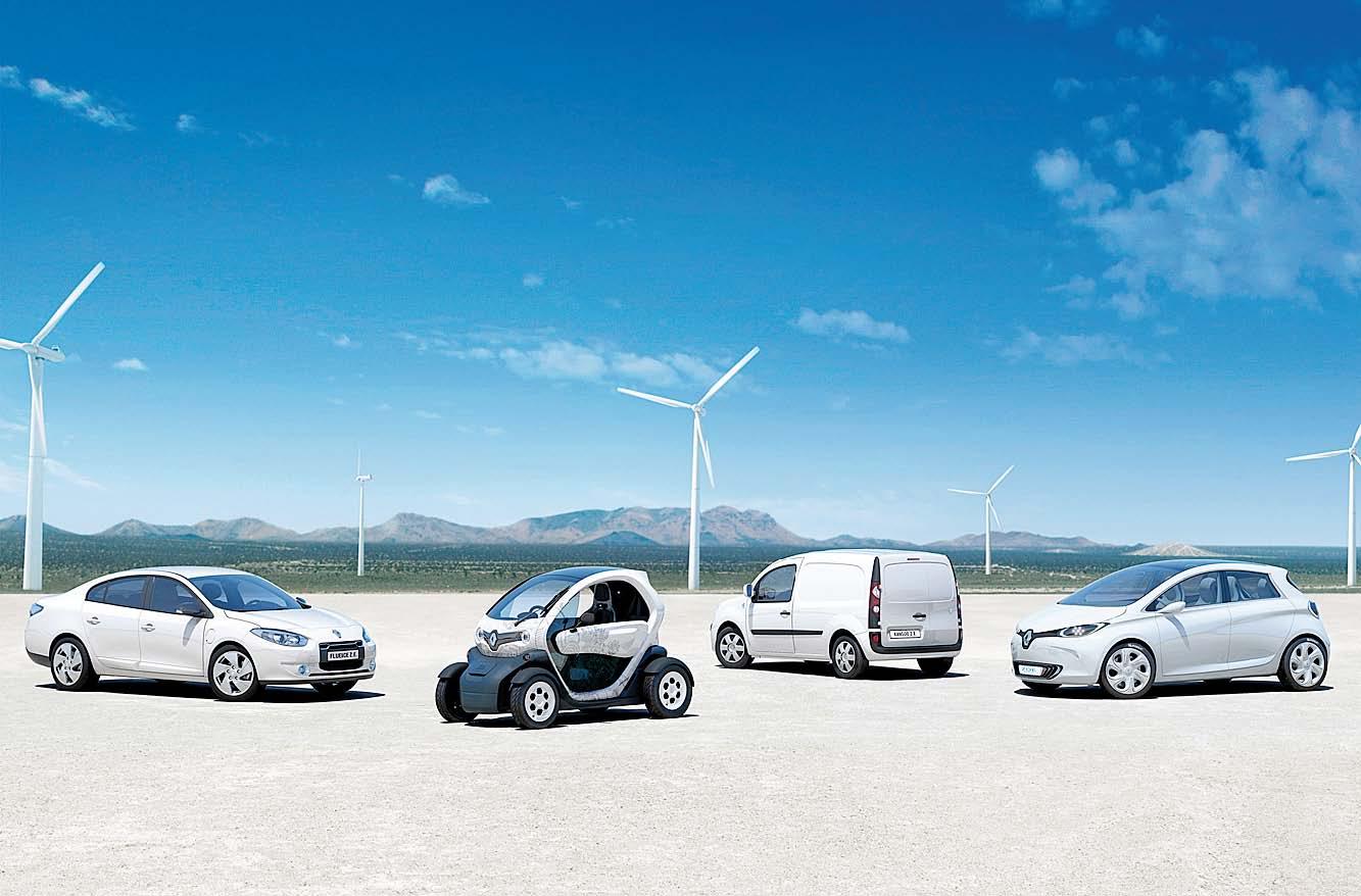 Gama eléctrica Renault