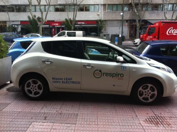 respiro-car-sharing nh hoteles madrid