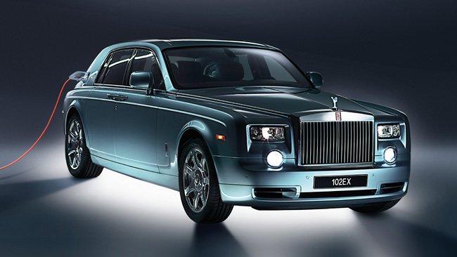Rolls-Royce se propone fabricar un vehículo híbrido enchufable