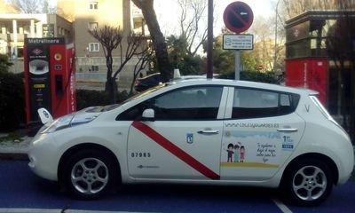 Entrevistamos a José Luis Rodriguez, conductor del segundo taxi eléctrico de Madrid