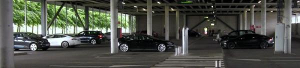 Busca y encuentra los 4 Tesla, 2 Nissan Leaf y 1 BMW i3