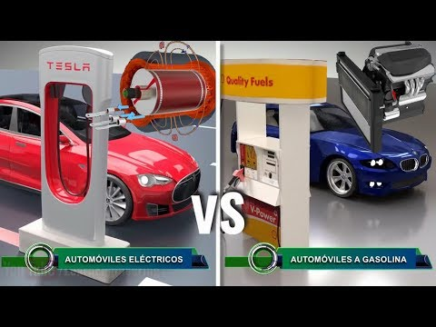 ¿Cuál es la eficiencia de un coche eléctrico frente a un coche de combustión?